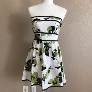 NWT Speechless Strapless Floral Dress
